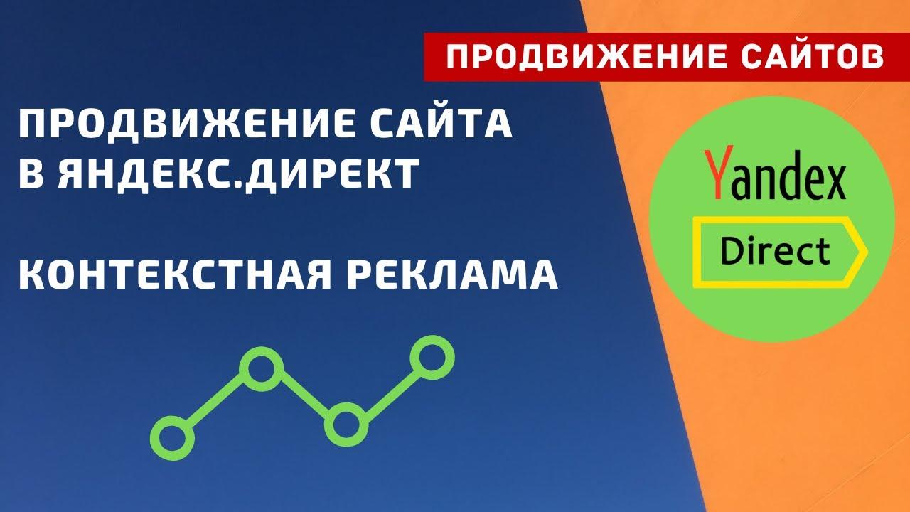 Продвижение сайта в Яндекс Директ. Контекстная реклама